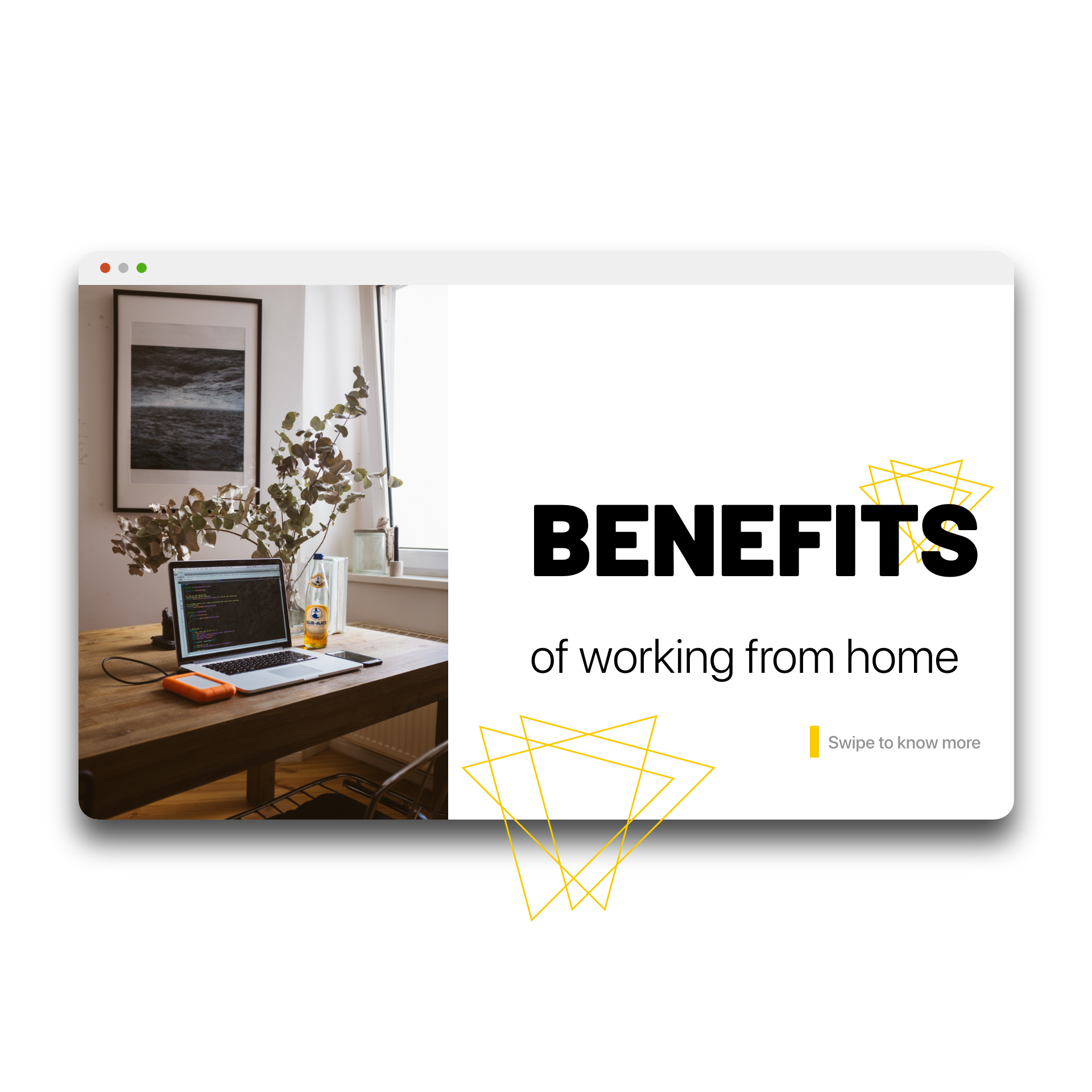 Work from home – 2